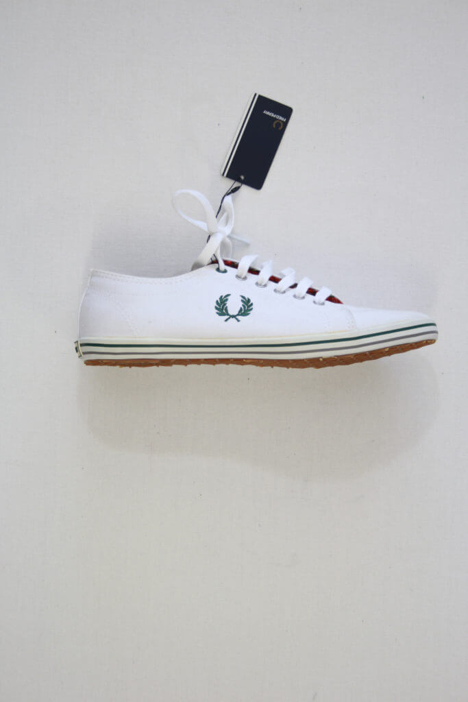 Fred Perry Kingston Twill Tipped White