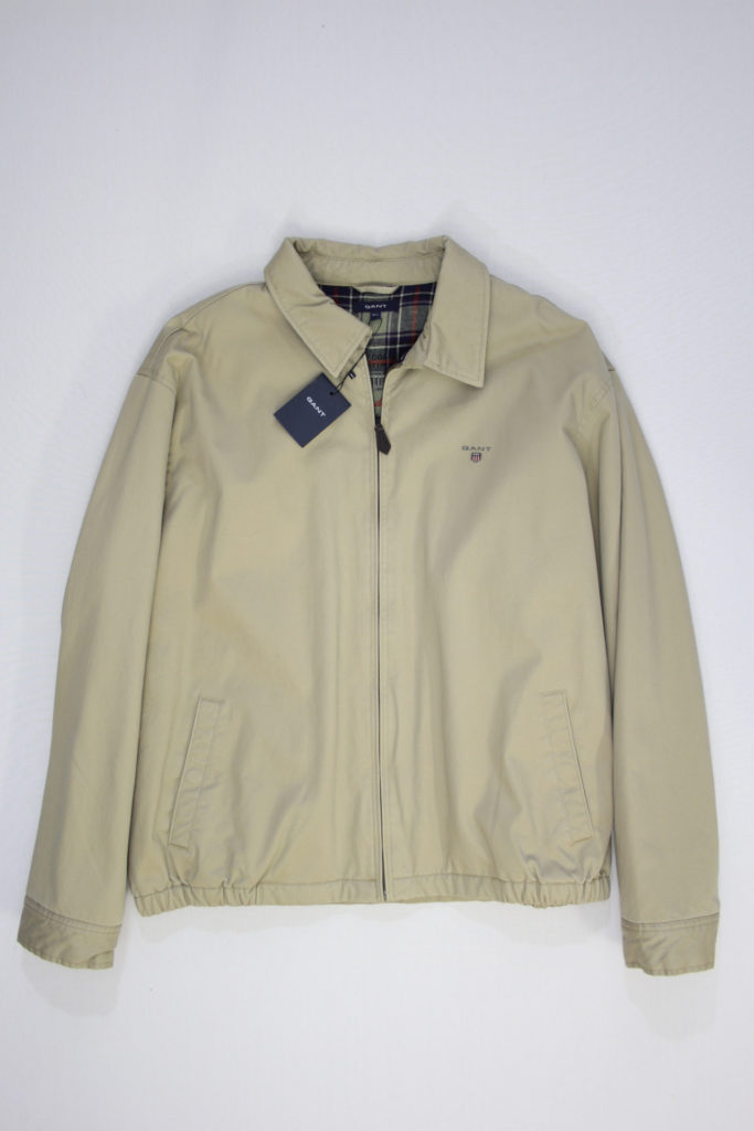 Gant The Windcheater Jas beige
