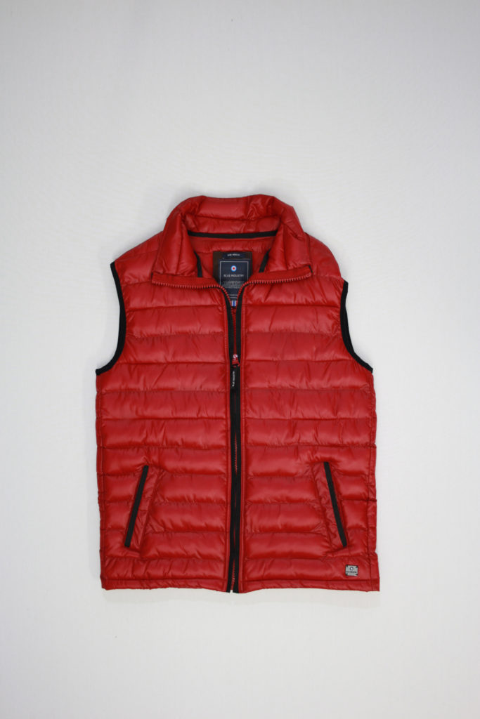 Blue Industry Bodywarmer rood