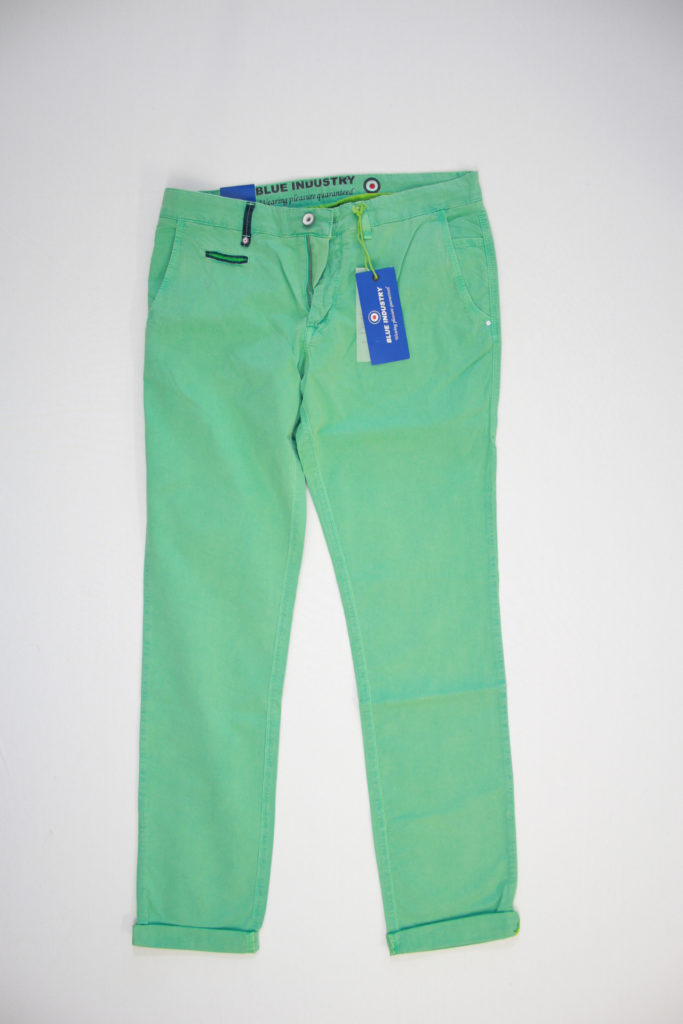 Blue Industry Casual Chino fitted green