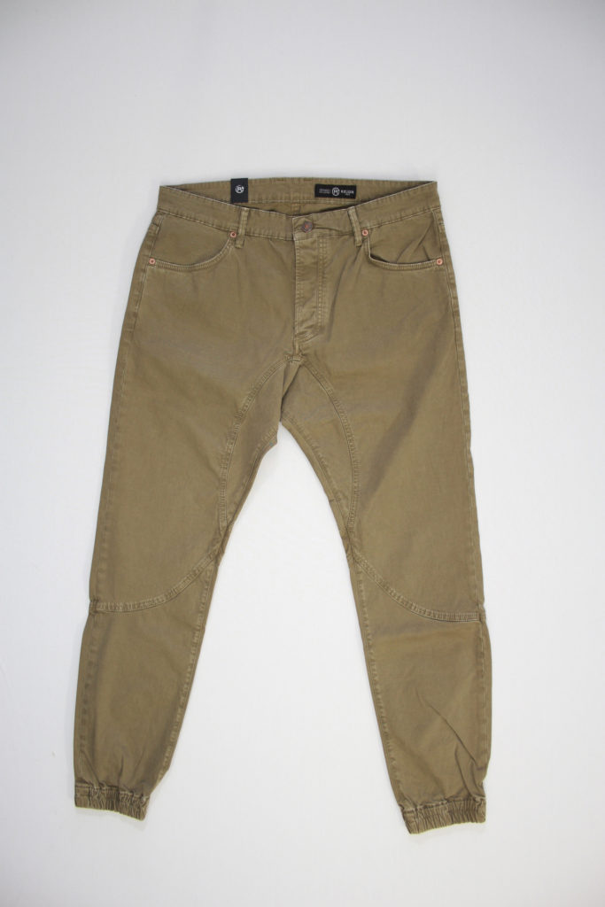 Reign Bend Chino Beige fitted cotton