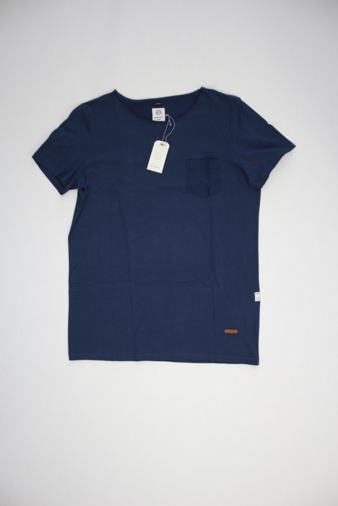 Bertoni Noble Fade T-Shirt Blauw o neck