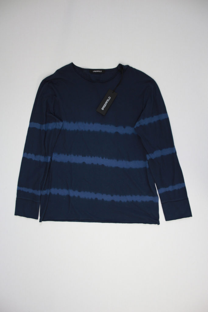 Lagerfeld Faded Striped Longsleeve Shirt
