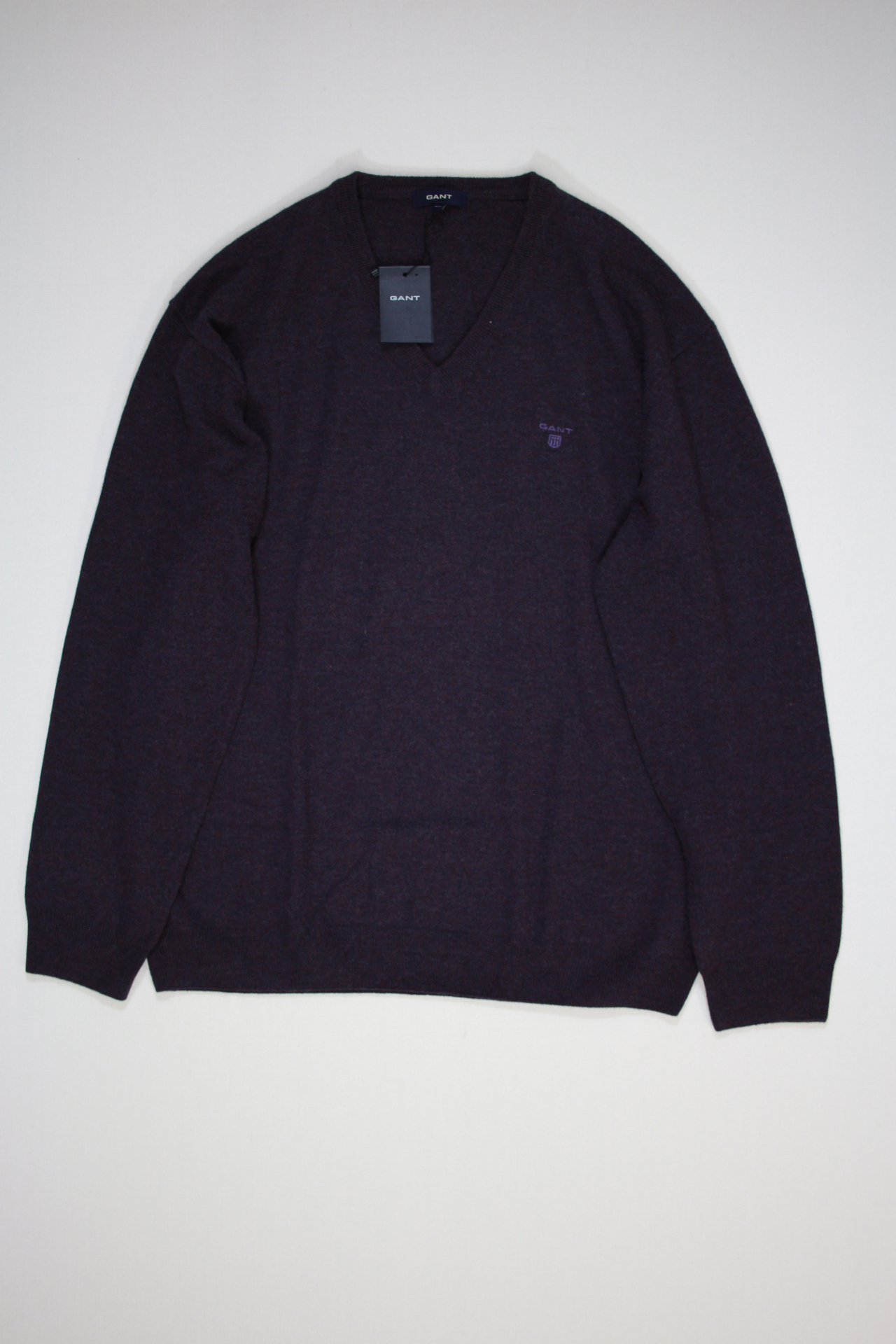 Gant Solid Lambswool Pullover