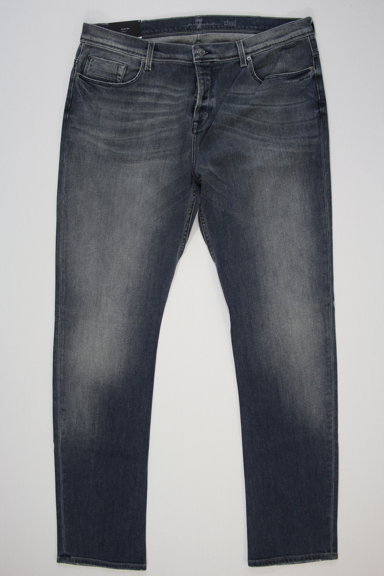 7 For All Mankind Chad Low Slim blauw