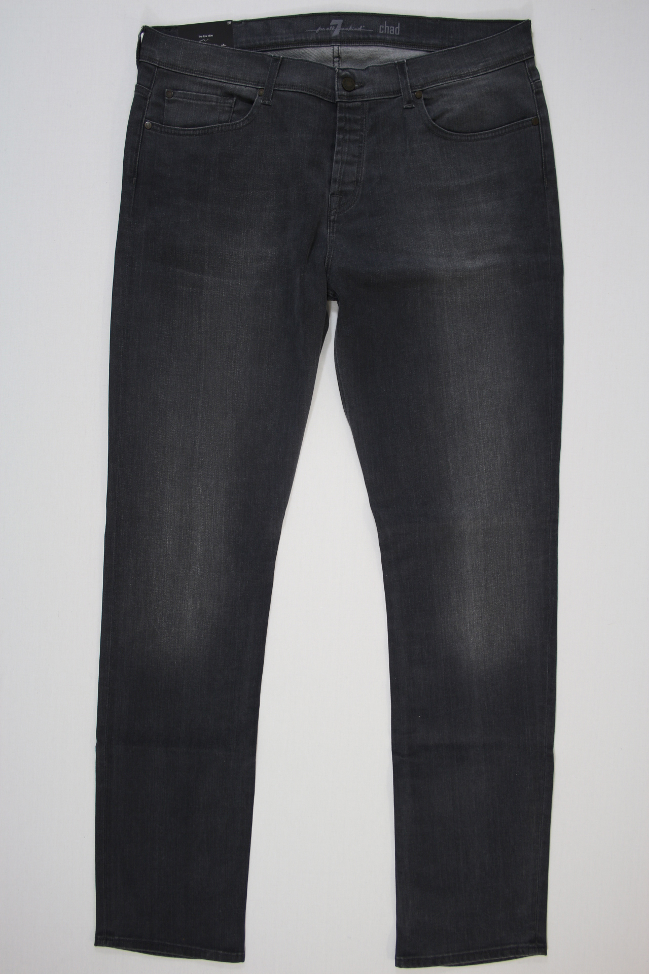 7 For All Mankind Chad Low Slim grijs