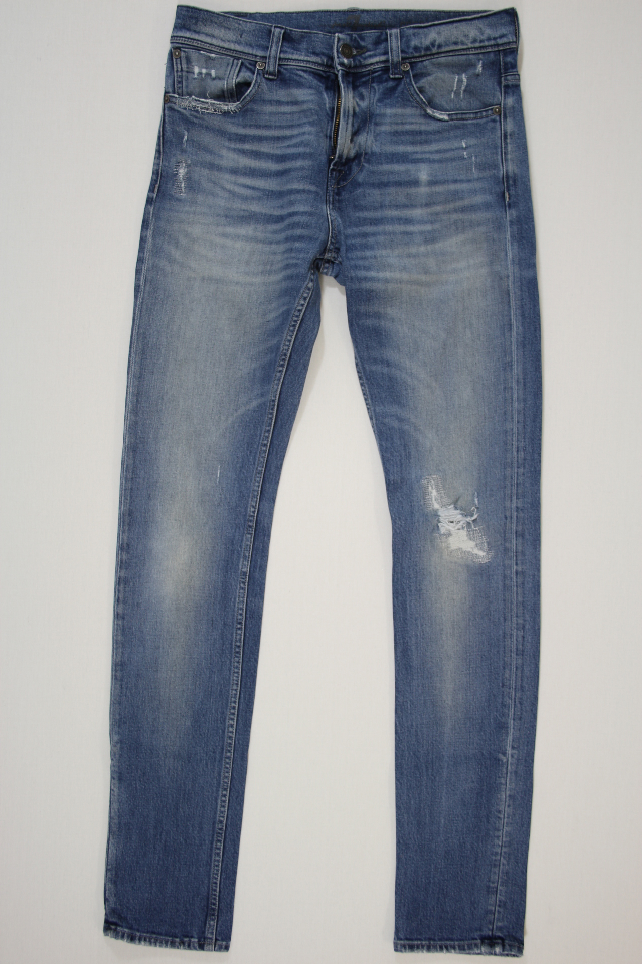 7 For All Mankind Ronnie Vintage Colection blauw