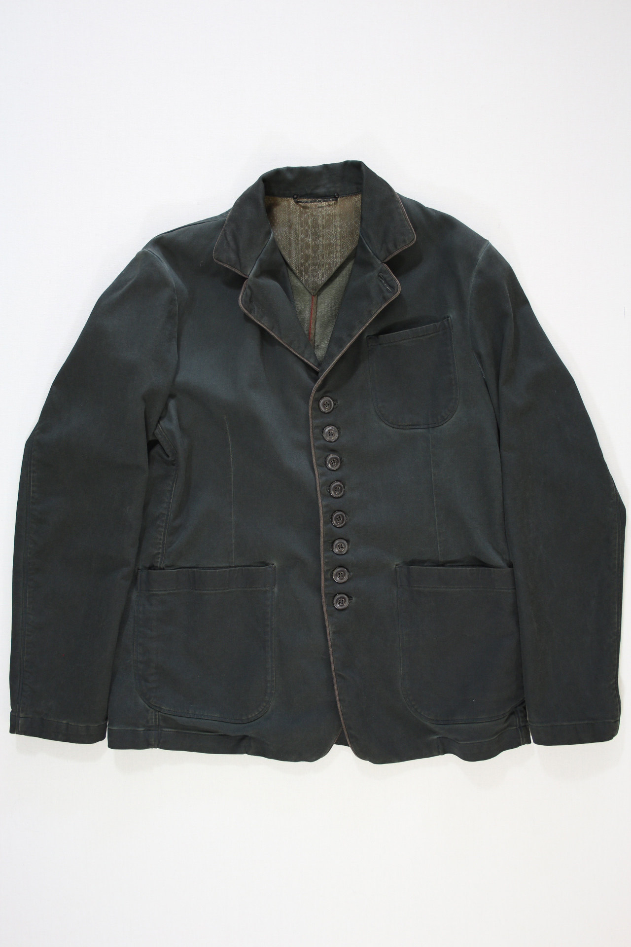 Wright's Old Officer Jacket groen
